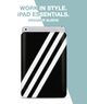 Tri Striped Sleeve For iPad 9.7""