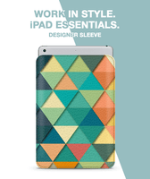 Triangle Rows Sleeve For iPad 10.5