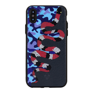 Uptown Snake Case For iPhone X