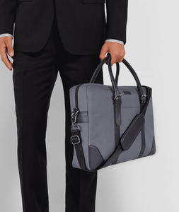 Vague Grey New Classic Briefcase 14""