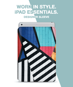 Wall Striped Art Sleeve For iPad mini 4