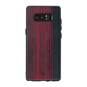 Wooden Barcode Case For Galaxy Note 8