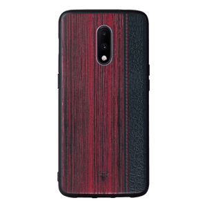 Wooden Barcode Case For OnePlus 7