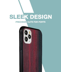 Wooden Barcode Case For iPhone 11 Pro