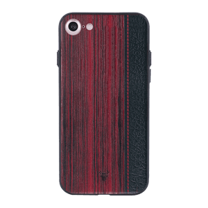 Wooden Barcode Case For iPhone 7