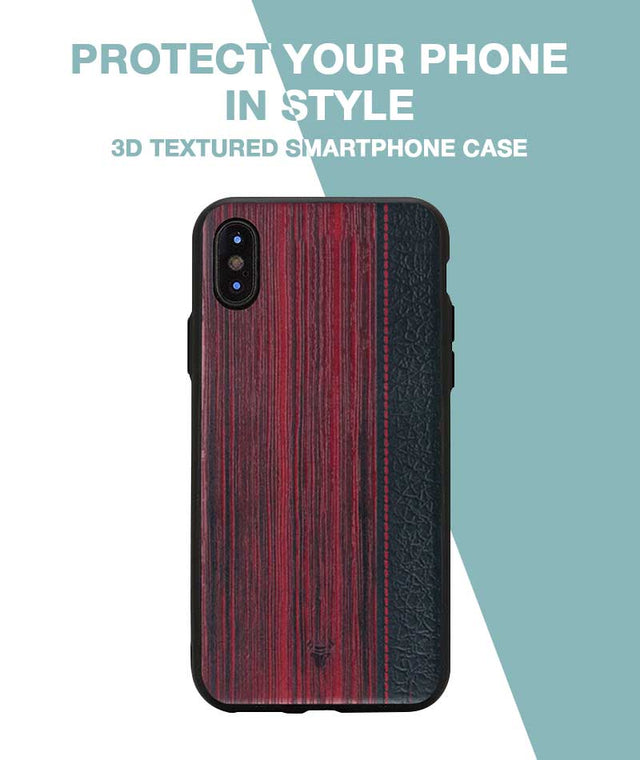 Wooden Barcode Case For iPhone Xs Max