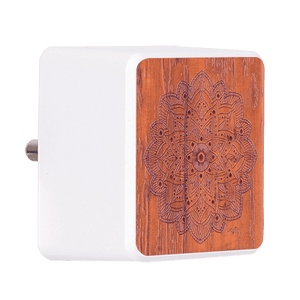 Woody Mandala Bolt Wall Charger
