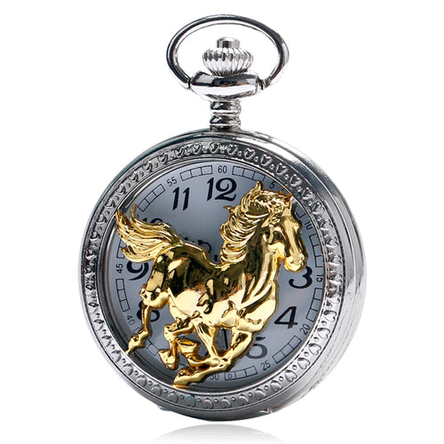 Thoroughbred Pocket Watch - KENETIC WAREHOUSE