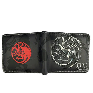 House Targaryen Leather Wallet - KENETIC WAREHOUSE