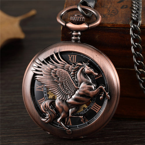 Pegasus Pocket Watch - KENETIC WAREHOUSE