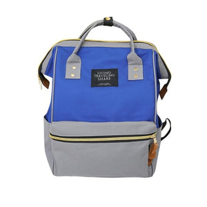 Luxury Backpack Women Unisex Solid Backpack School - Royal Loot