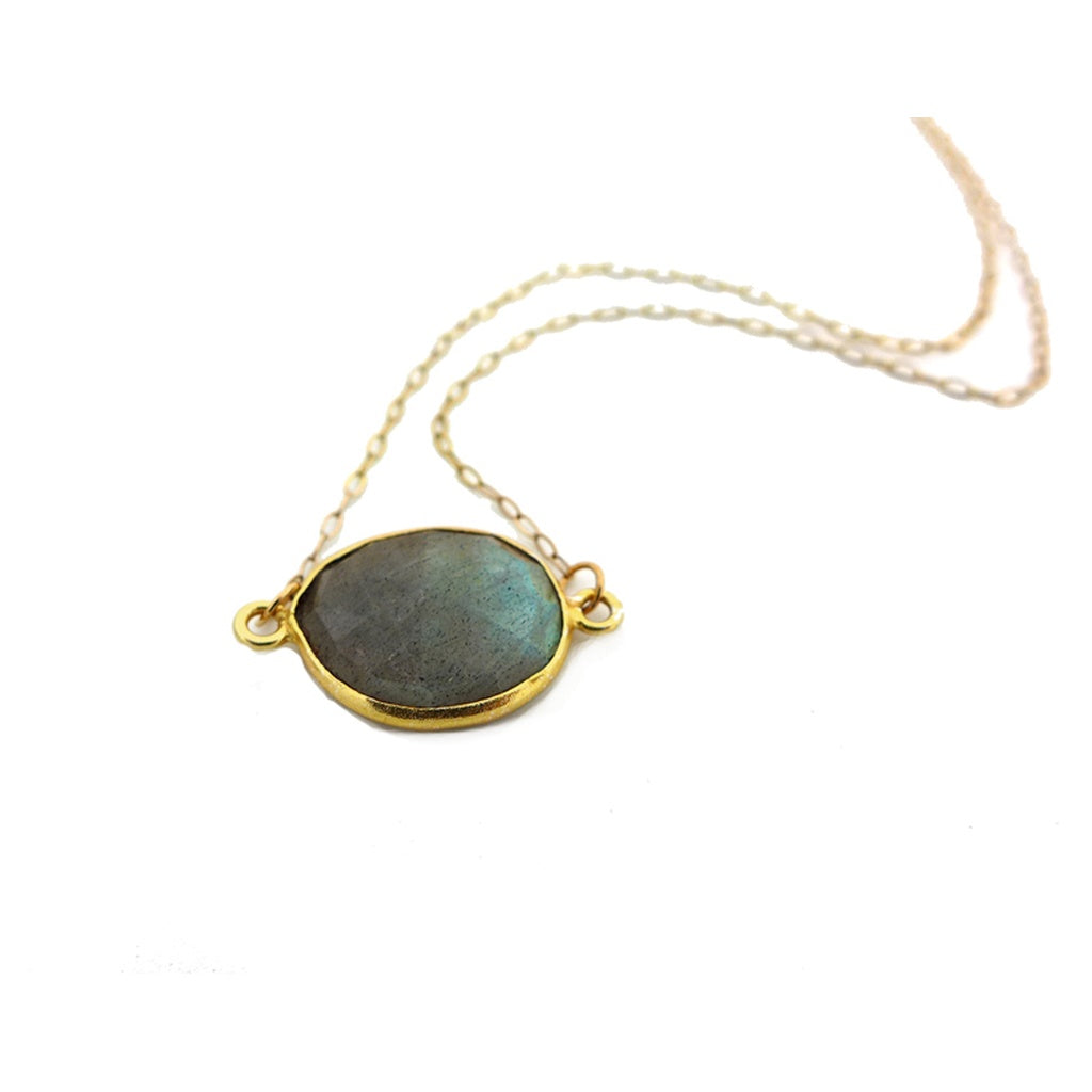Labradorite Necklace - Royal Loot
