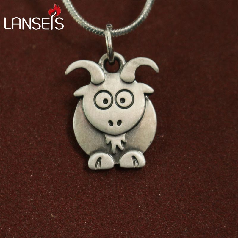 Cute Goat Necklace - Royal Loot