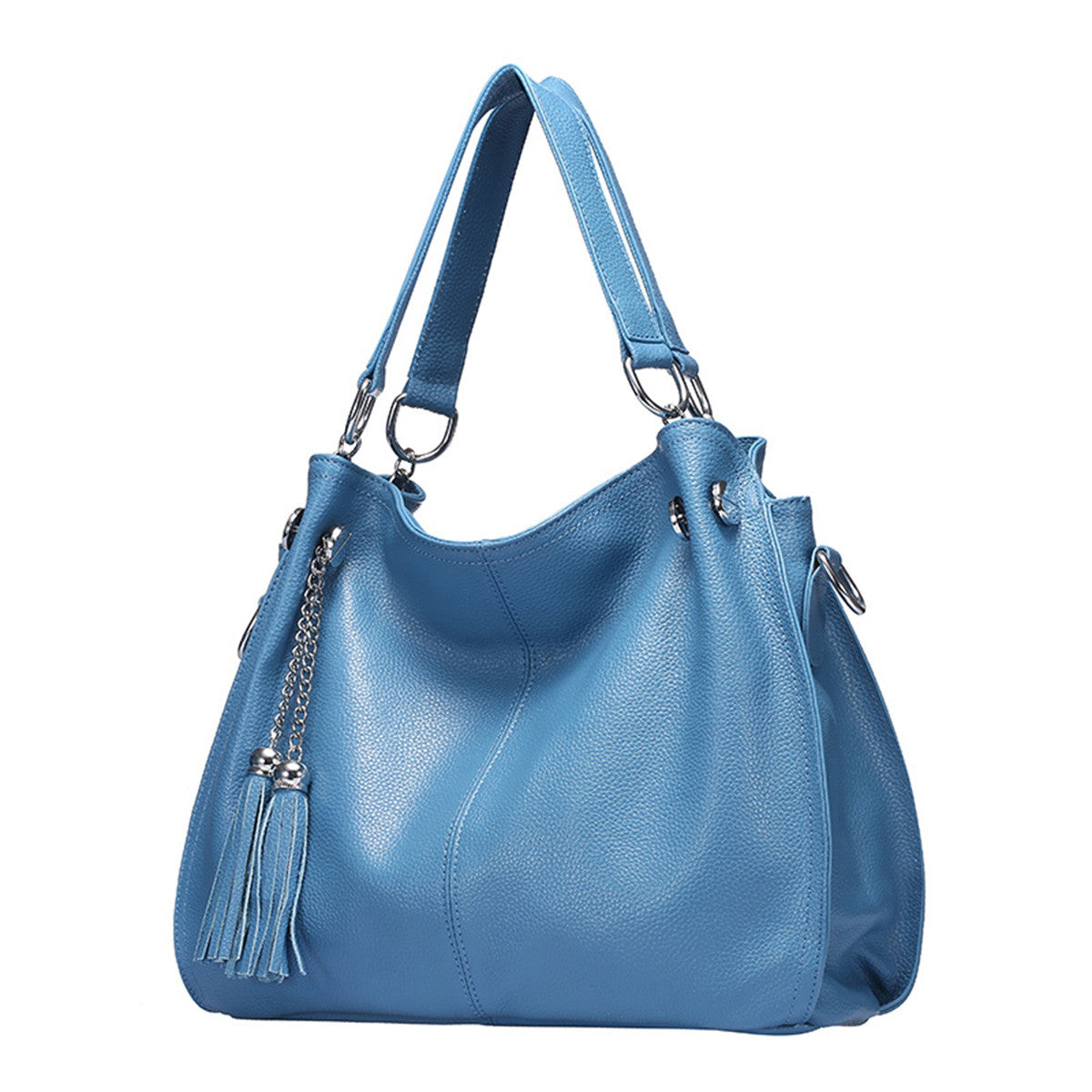 Women's Casual Handbag Large Crossbody Bag Exquisite Split Leather Shoulder Bag - Royal Loot
