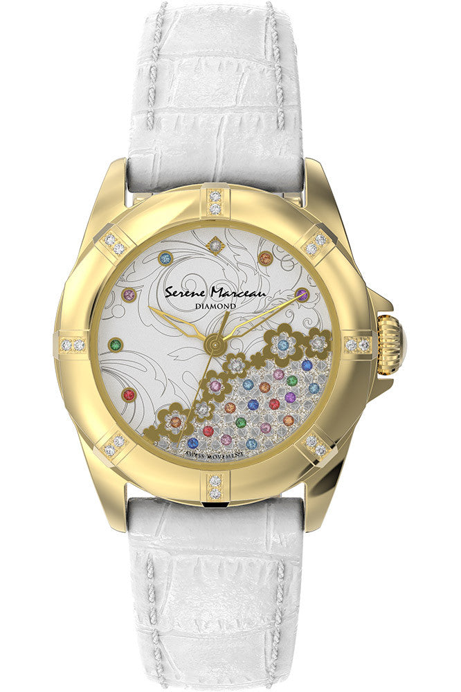 Serene Marceau Diamond Café de la Paix Watch - Ladies Quartz Analogue - Royal Loot