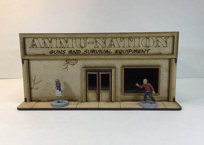 Ammu-Nation Gun Shop 28mm Building Kit v2