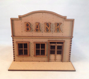 Bank Wild West Western 28mm Terrain