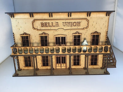 Bella Union Saloon Brothel Wild West Western 28mm Terrain