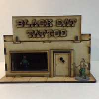 Black Cat Tattoo Shop 28mm Terrain