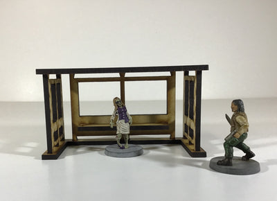 Bus Stop Shelter - 28mm Terrain