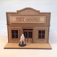 Dry Goods 28mm Old West Building