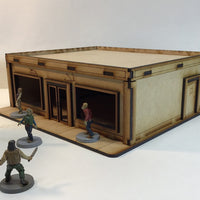 Marathon Gas Station 28mm Building Kit