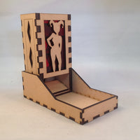 Harley Quinn Dice Tower v1