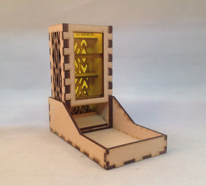 Window Dice Tower v4