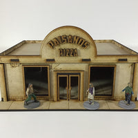 Paisanos Pizza v1 28mm Building Kit