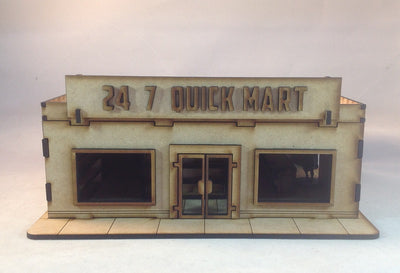Quick Mart 28mm Building Kit