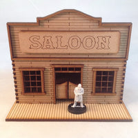 Saloon 28mm Old West Building