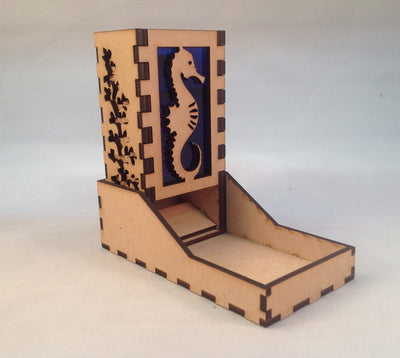 Seahorse Dice Tower v1