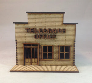 Telegraph Office 28mm Old West Building