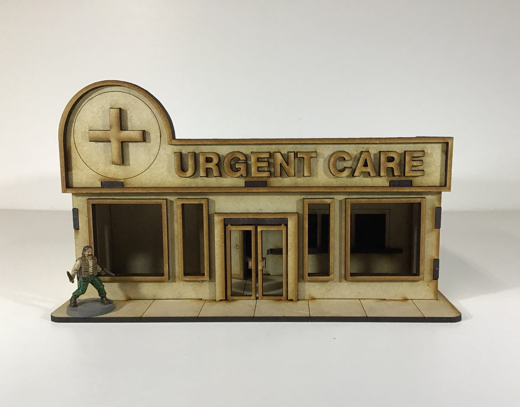 Urgent Care Clinic 28mm Building Kit