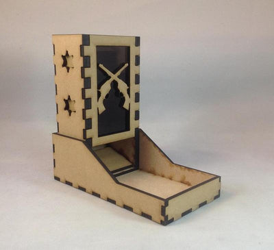 Guns Western Theme Dice Tower v1