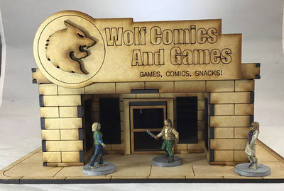 Wolf Comics 28mm Building Kit