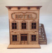 Hotel Brothel Wild West Western 28mm Building