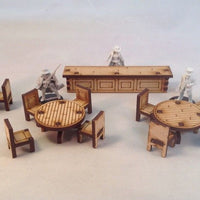 Saloon Furniture Set Wild West Western