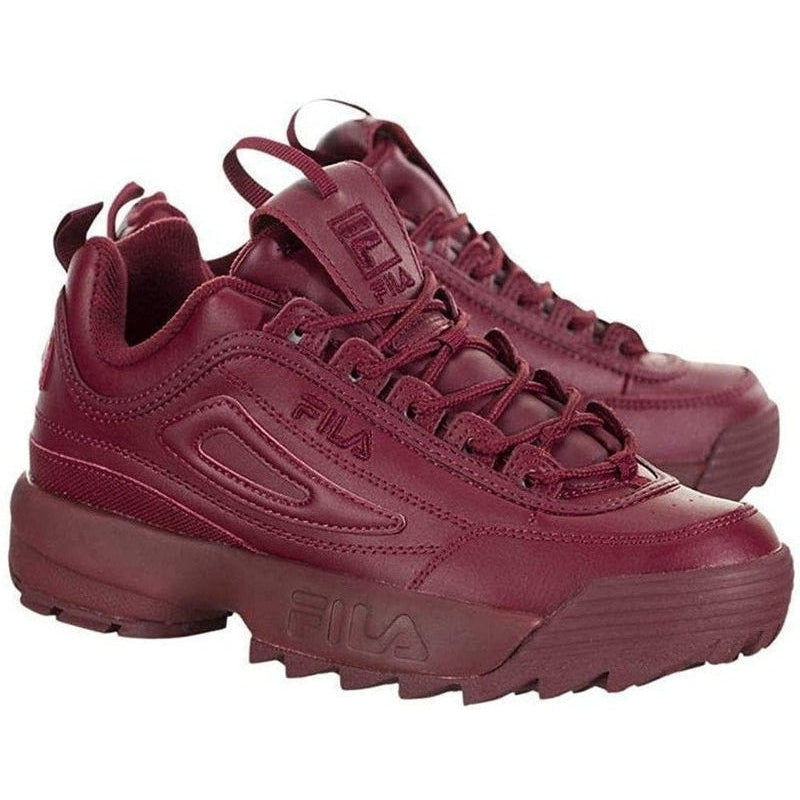 Cheap Fila Disruptor II Autumn Red SHOES