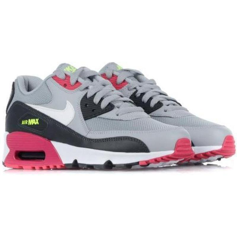 Cheap Nike Air Max 90 Mesh (GS) Wolf Grey SHOES