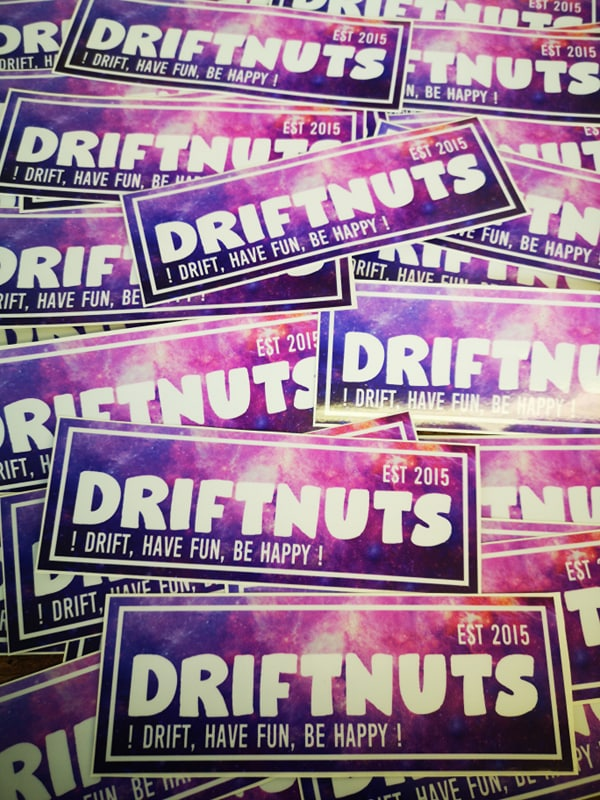 Driftnuts galaxy printed slap