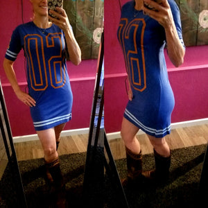 Bronco Tee Shirt Dress