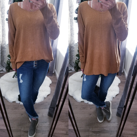 Mustard Super Soft Sweater