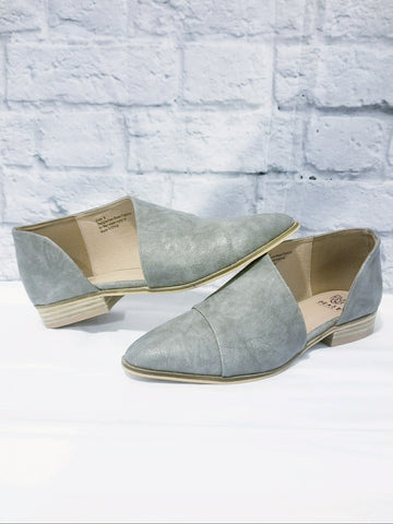 Taupe Slides - Flats