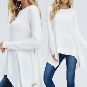 Super Soft Ivory Top