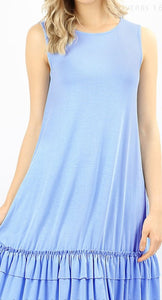 Blue Basic Sundress