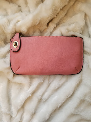 Blush Mini Crossbody/Wristlet