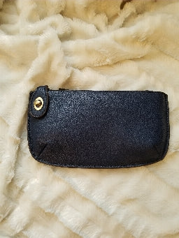 Navy Mini Crossbody/Wristlet