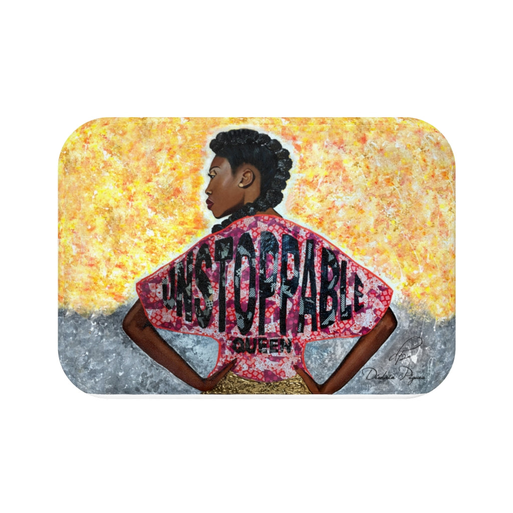 Unstoppable Queen Bath Mat