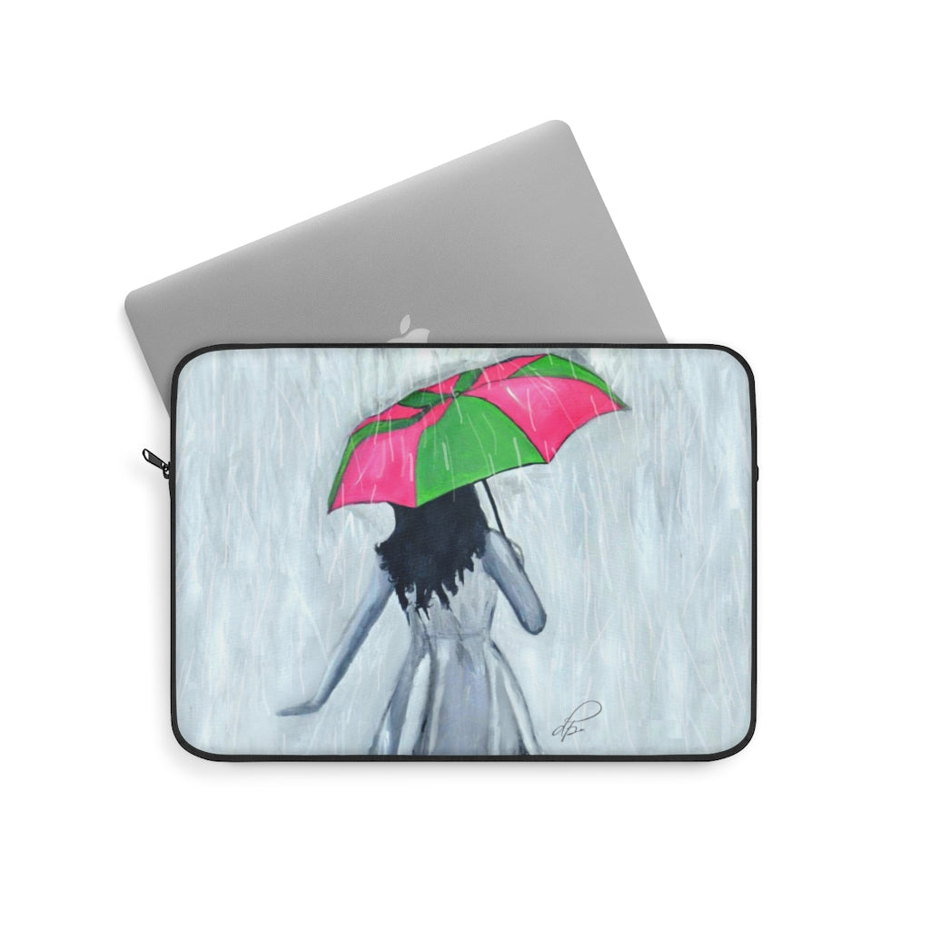 Elegant Showers Laptop Sleeve